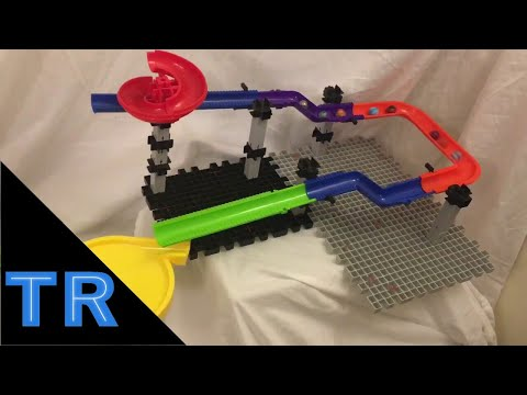 Big Elimination Marble Race w/ 10 Marbles - Toy Racing