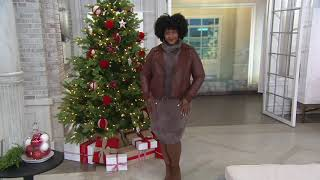 All Worthy Hunter McGrady Sweater Tunic on QVC