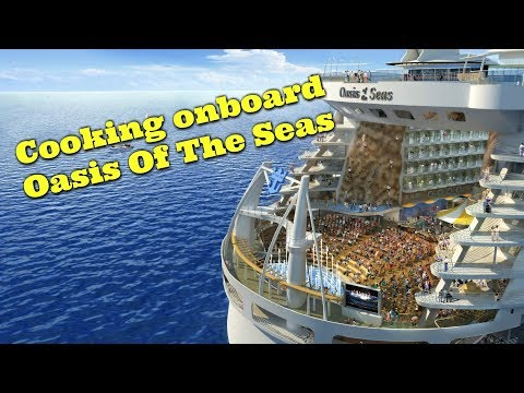 Oasis of the seas with guest Executive Chef Stephen Larsson