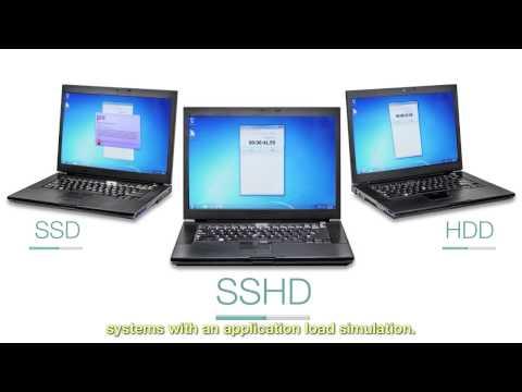 Seagate Performance Comparison: SSD vs SSHD vs HDD