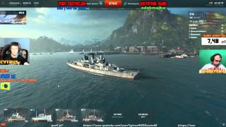 Live - World Of Warships i inne :D CytrusANDSwiatek6 (09.10.2015r.)