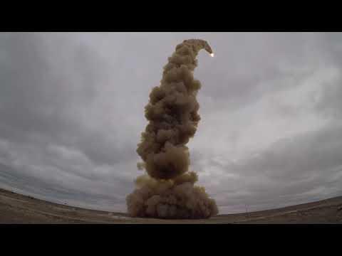 Эксклюзив: пуск новой противоракеты системы ПРО на полигоне Сары-Шаган