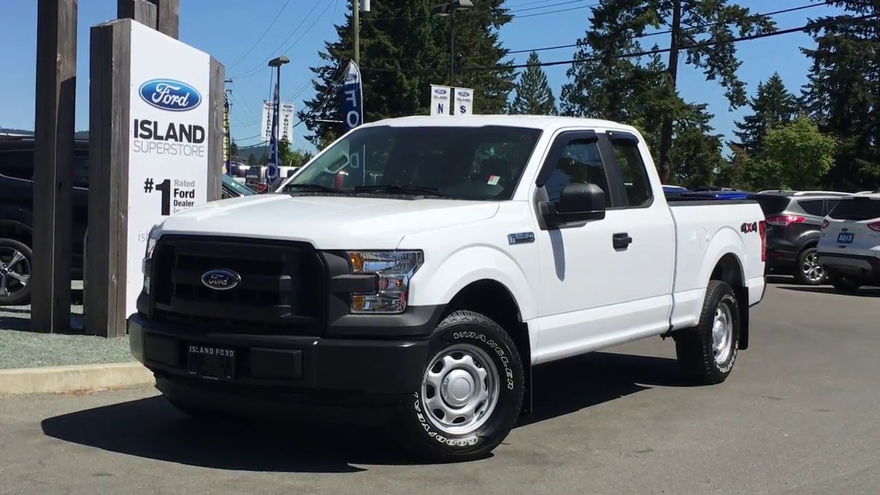 2016 ford f 150 xl supercab 4x4 review island ford youtube. Black Bedroom Furniture Sets. Home Design Ideas
