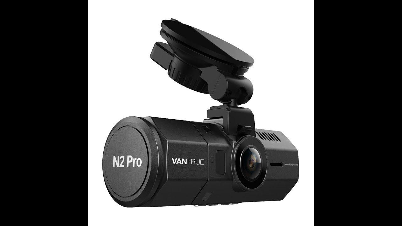 Vantrue N2 Pro Front /& Back Infrared Nightvision Dual Dash Cam HD Camera 256GB!