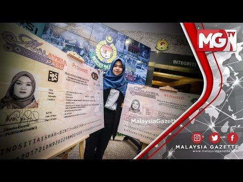 """TERKINI : """"Imigresen Tingkat Ciri Keselamatan pada Reka Bentuk Pas dan Visa Malaysia Baharu"""""""