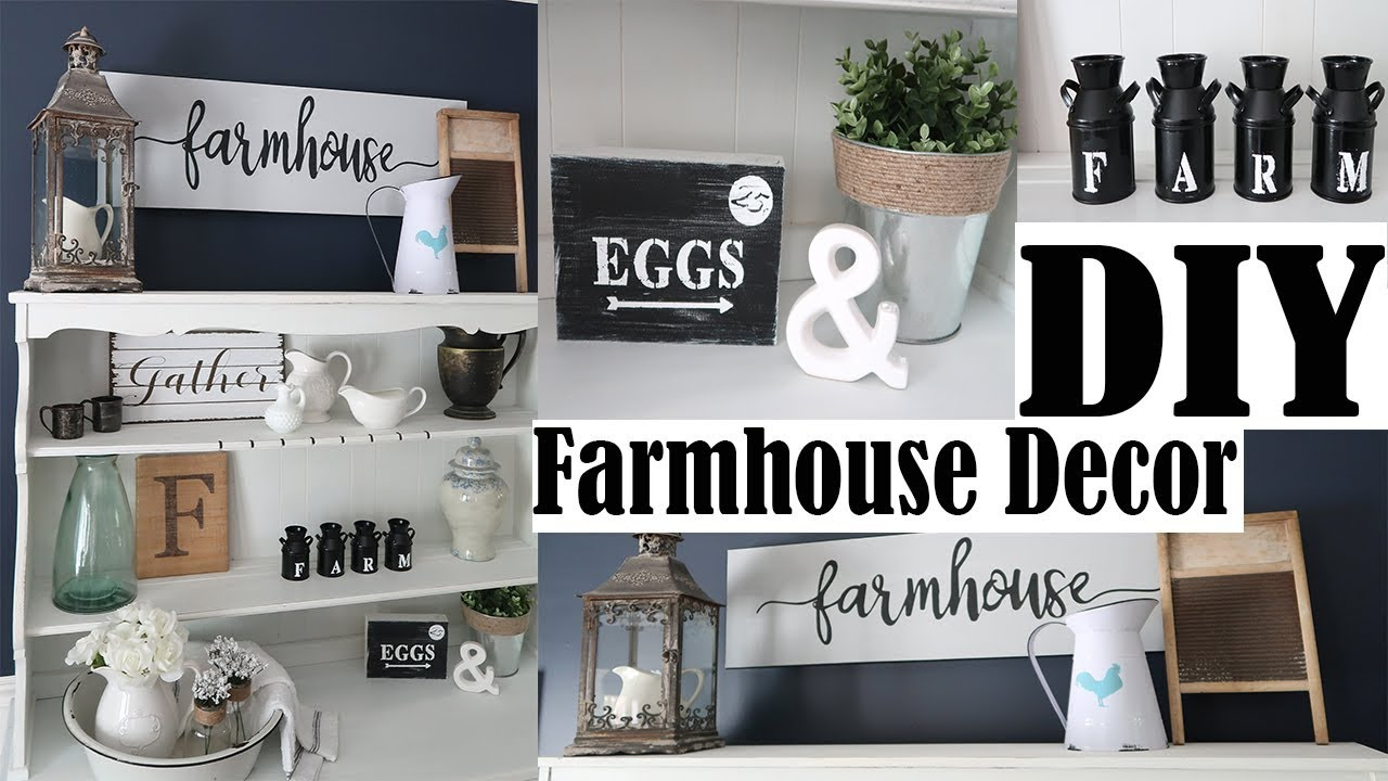 3 Easy Diy Farmhouse Decor Inexpensive Signs