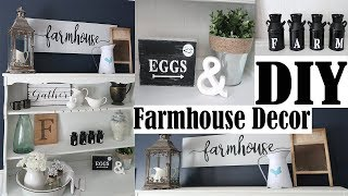 3 Easy DIY Farmhouse decor - Inexpensive Signs