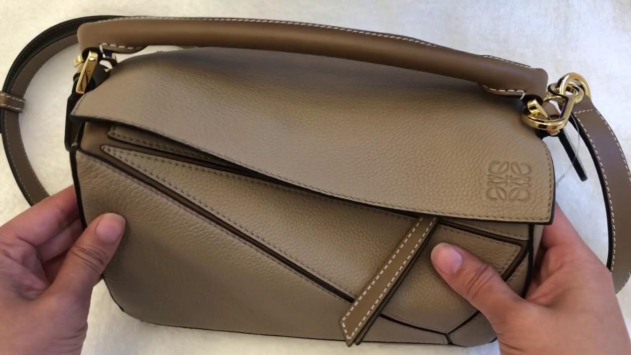 loewe puzzle bag color