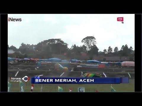 Puting Beliung Sapu Lapak Pedagang di Arena Pacuan Kuda Aceh, 4 Orang Terluka - iNews Malam 07/01