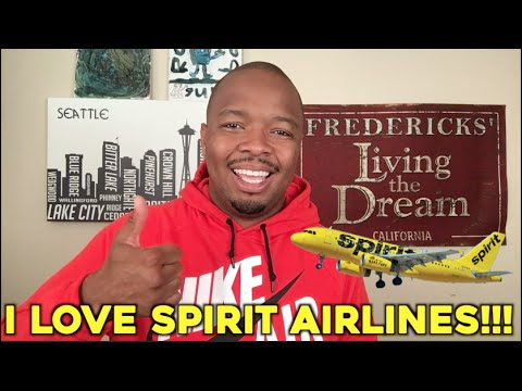I LOVE Spirit Airlines