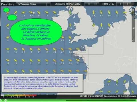 Prévisions de météo marine gratuites pour le monde entier