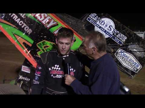 Trail-Way Speedway Victory Lane Ceremonies 9-8-17