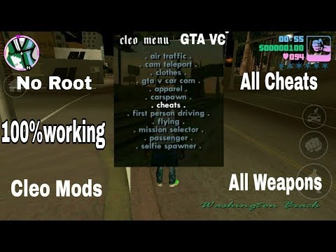 (No Root)How To Install Cleo Mod,Cheats In Gta Vice City Android(Hindi/Urdu)