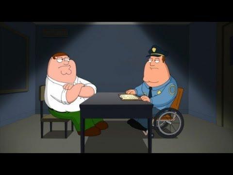 Family Guy - Joe Interrogates The Guys