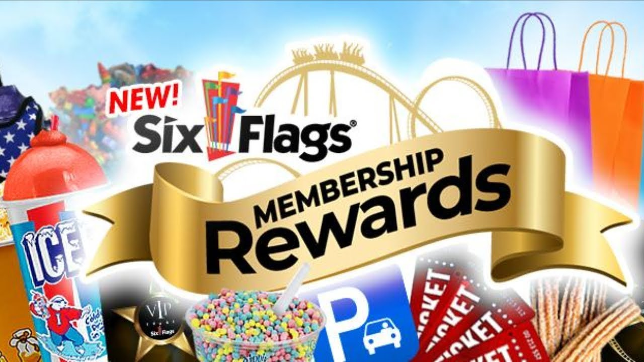 Info Vlog - Six Flags Launching New Membership Rewards Program & Buying a  Season Membership Pass