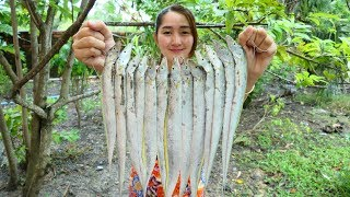 Yummy Cooking Ribbonfish Sour Sweet Stir Fried Recipe - Yummy Ocean Fish Cooking - Cooking With Sros