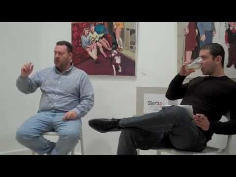 Steve Van Zutphen (Founder/CEO Blast TV) at Startup Grind Cyprus