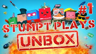 Unbox - #1 - What's in the Box?! (4 Player Gameplay)