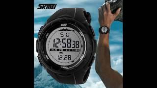 Променял часы CASIO на китайские водонепроницаемые часы SKMEI Распаковка, обзор, тест.