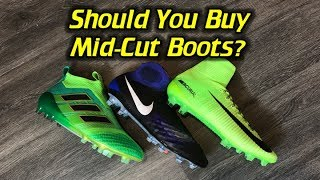 Pros & Cons of Mid-Cut Football Boots/Soccer Cleats