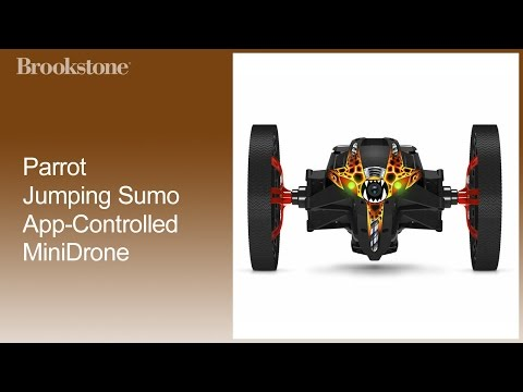 Parrot Jumping Sumo App-Controlled MiniDrone Getti