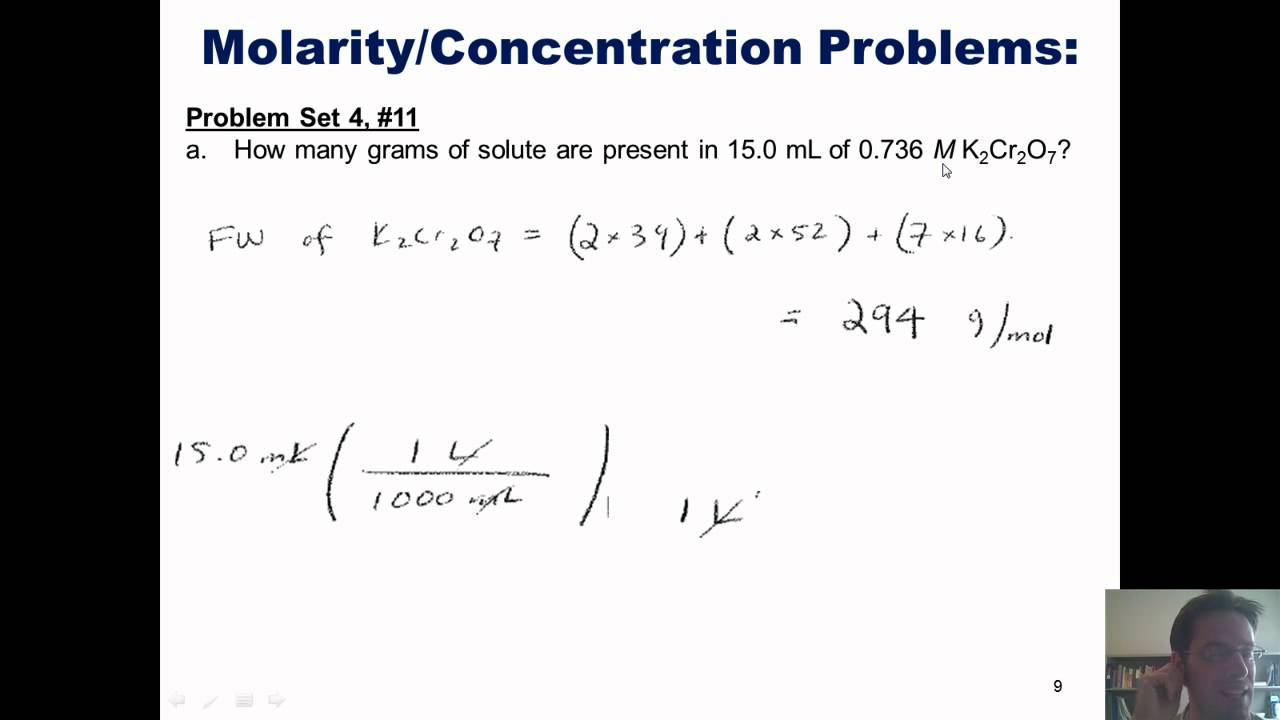 Chapter 4 - Reactions in Aqueous Solution: Part 5 of 6 ...