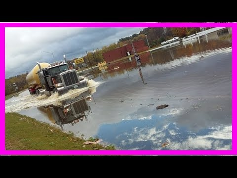 Breaking News | Images of new hampshire flooding, damage from late october storm