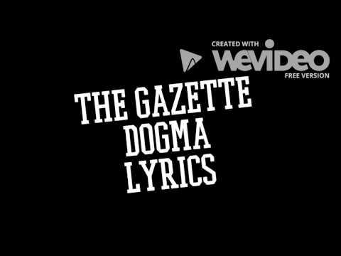 The GazettE   DOGMA  Lyrics & Translation