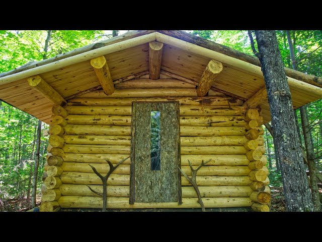 Making a Unique Wood Door for a Log Cabin