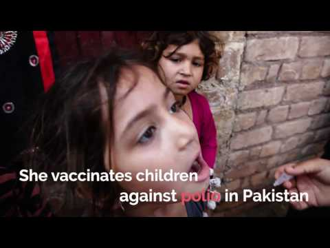 It Takes All of Us — Polio Vaccinator in Pakistan