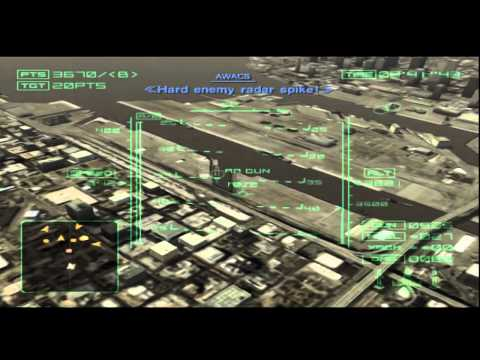 Ace Combat 4 Mission 6 Invincible Fleet