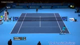 (Прогнозы на теннис) Roger Federer Vs Rafael Nadal London 2013 SF HIGHLIGHTS HD