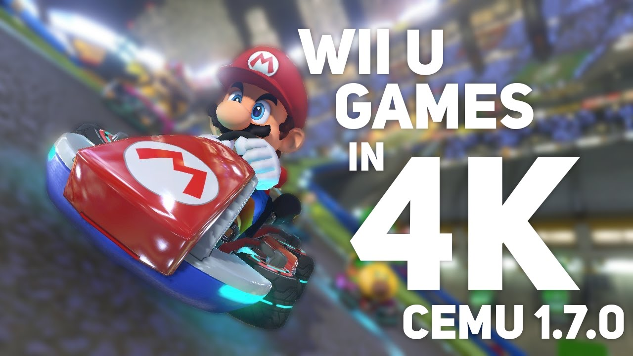 Conheça o Cemu, um emulador de Wii U que funciona  E muito