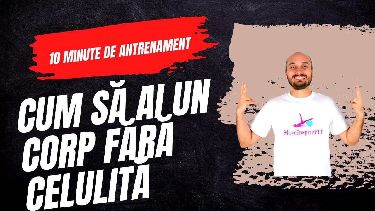 Exerciții fizice pentru pielea lăsată și celulită // MoveInspireFIT // Ziua 4