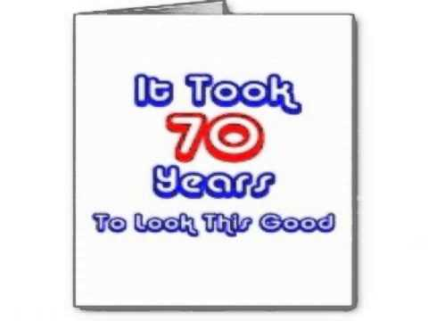 Funny 70th Birthday Cards