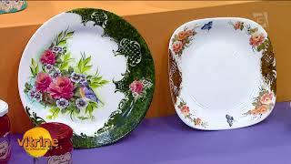 COMO FAZER: Pratos Porcelana com Mamiko