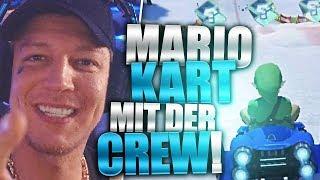 Das Comeback der Crew | Mario Kart 8 | SpontanaBlack