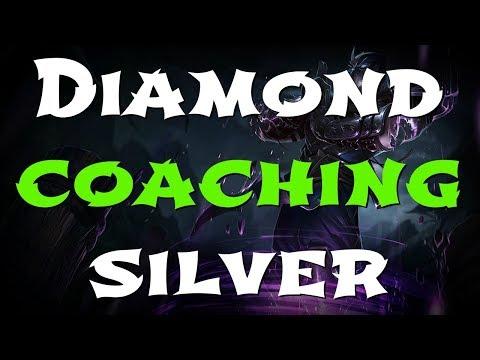 Diamond Shen main coaching Silver!