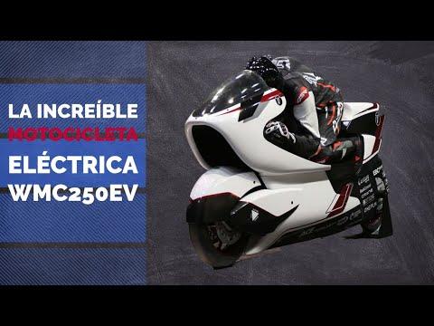LA INCREÍBLE MOTOCICLETA ELÉCTRICA WMC250EV