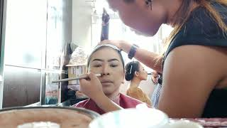 MAKE UP SINDEN JAWA  ( proses )...