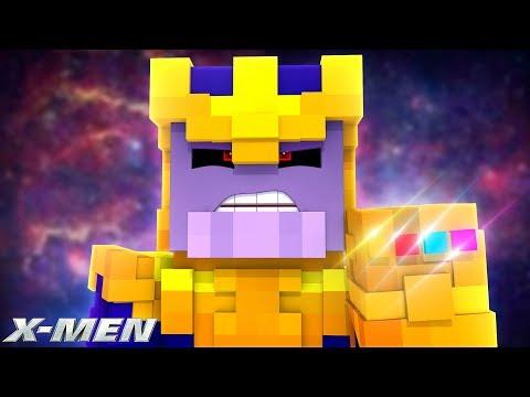 X-MEN #8 - X-MEN & AVENGERS VS THANOS! (Custom Mod Adventure)