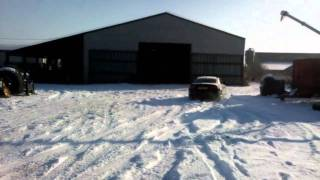 Audi A5 3.0 TDI - Little bit of snow drifting fun!