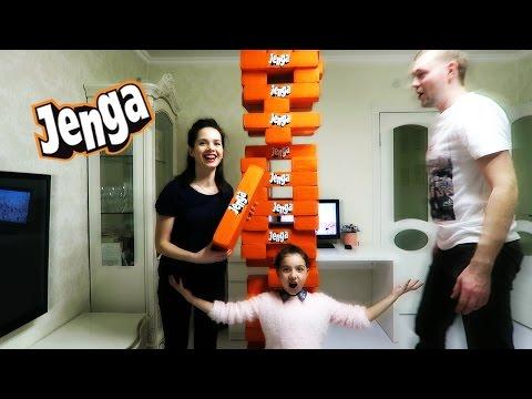 Самая большая JENGA БАШНЯ / Дженга под потолок