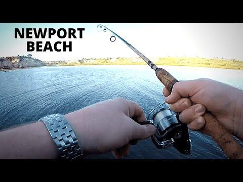 SHORE FISHING Newport Beach Back Bay