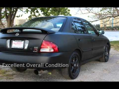 2002 nissan sentra se r for sale in miami fl youtube. Black Bedroom Furniture Sets. Home Design Ideas