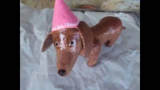 How to Make a Dachshund Dog Sculpture