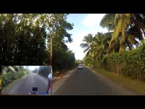 Ride from Arorangi to Ruatonga