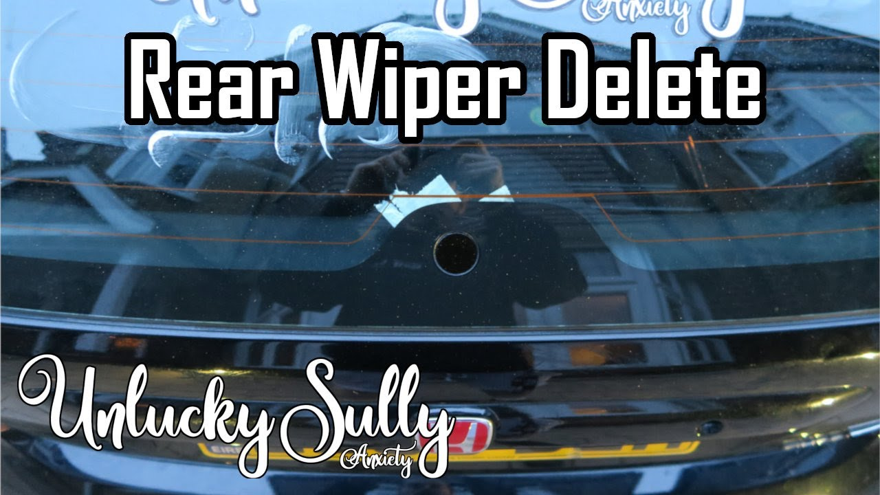 Dewiper Blank Bung De Wiper Delete Kit VW Scirocco MK3 Kill All Wipers