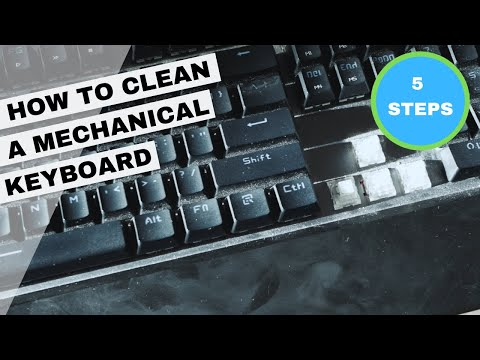 How to Clean a Mechanical Keyboard!