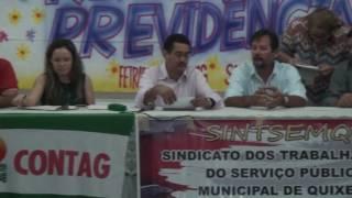 Deputado Moisés Braz aponta importância das da audiência contra a reforma da previdência